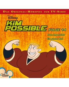 Disney Kim Possible Team Impossible / Ein ganzer Kerl (Folge 14)