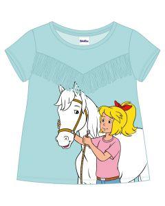 Bibi & Tina: Shirt mit Fransen (blau)