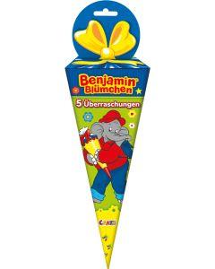 Benjamin Blümchen: Gefüllte Schultüte 5 tlg.