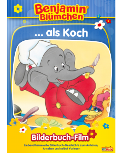 Benjamin Blümchen: als Koch (bilderbuch/mp4)