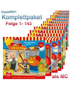 Benjamin Blümchen: 143er MC-Komplett-Box (Folge 1 - 143)