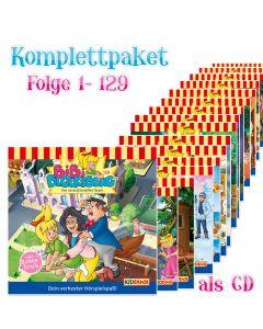Bibi Blocksberg: 129er Komplett CD-Box (Folge 1 - 129)