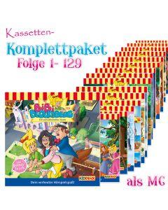 Bibi Blocksberg: 129er Komplett MC-Box (Folge 1 - 129)