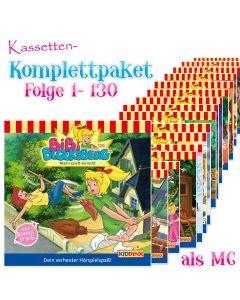 Bibi Blocksberg: 130er Komplett MC-Box (Folge 1 - 130)