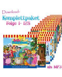 Bibi Blocksberg: 128er MP3-Komplett-Box (Folgen 1-128)