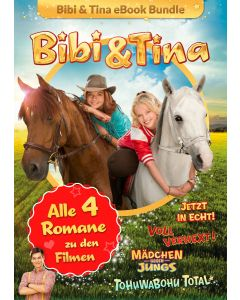 Bibi & Tina: 4er eBook-Box Kinofilm