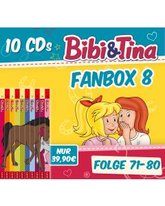 Bibi & Tina: 10er CD-Box 8 (Folge 71 - 80)