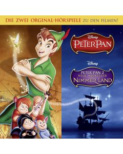 Disney: 2er MP3-Box Peter Pan (Folge 1 - 2)