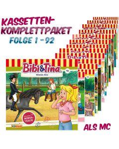 Bibi & Tina: 92er MC-Komplett-Box (Folge 1 - 92)