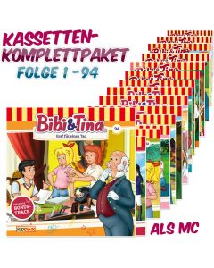 Bibi & Tina: 94er MC-Komplett-Box (Folge 1 - 94)
