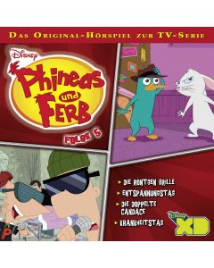Phineas und Ferb: Die Röntgen Brille / .. (Folge 5)