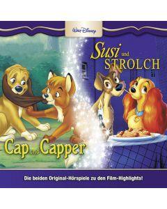 Disney: 2er MP3-Box Cap und Capper, Susi & Strolch