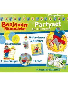 Benjamin Blümchen: Elefantenstarkes Partyset für 8 Kids