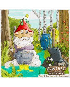 Gunther der grummelige Gartenzwerg: Der Riss in der Regentonne (Folge 1)