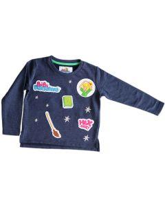 Bibi Blocksberg: Sweatshirt mit Aufnähern (blau)