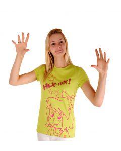 Bibi Blocksberg: Shirt mit Glitzer (grün)