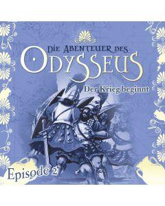 Die Abenteuer des Odysseus: Der Krieg beginnt (Folge 2)
