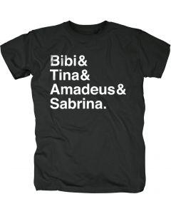 Bibi & Tina: Shirt Männer (schwarz)