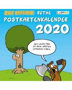 Ruthe: Shit happens! - Postkartenkalender 2020