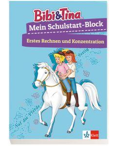 Bibi & Tina: Mein Schulstart-Block Erstes Rechnen und Konzentration