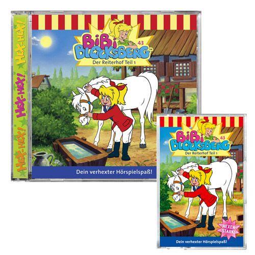 Sonstige Spielzeug-Artikel Bibi Blocksberg 2er-CD Bibi auf dem Reiterhof Audio-CD Bibi Blocksberg Audio