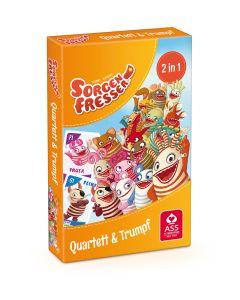 Sorgenfresser: Quartett & Trumpf (Kartenspiel)