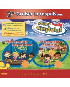 Disney: 2er MP3-Box Kleine Einsteins