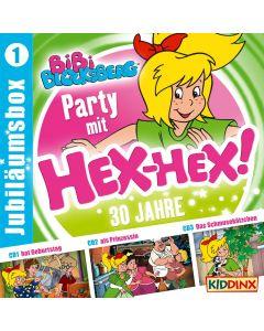 Bibi Blocksberg: 3er MP3-Box Party mit Hex-Hex (Folge 1)