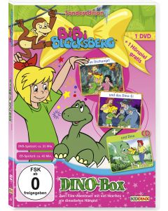 Bibi Blocksberg: 2er Box DVD+CD Special-Dino