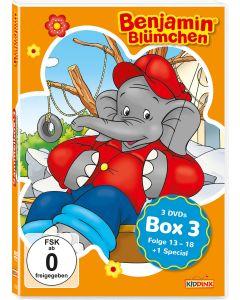 Benjamin Blümchen: 3er DVD-Box 3