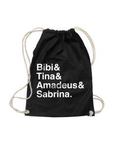 Bibi & Tina: Gymbag - Rucksack-Beutel