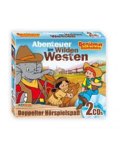 Benjamin Blümchen: 2er Box Abenteuer im Wilden Westen