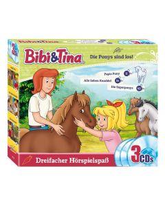 Bibi & Tina: 3er Box Die Ponys sind los