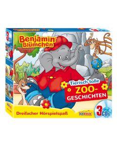 Benjamin Blümchen: 3er Box Tierisch tolle Zoogeschichten
