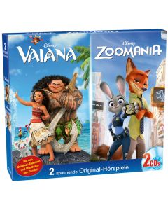 Disney: 2er Box Vaiana/Zoomania