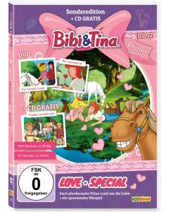 Bibi & Tina: 2er Box DVD+CD Love-Special