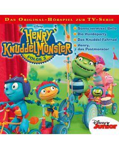 Henry Knuddelmonster: Sonny vermisst Bello / .. (Folge 3)