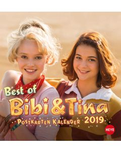 Bibi & Tina: Postkartenkalender 2019 Kinofilm