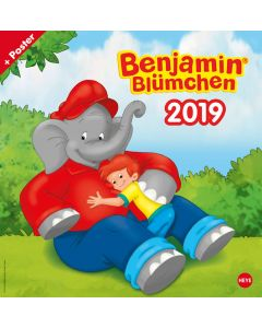Benjamin Blümchen: Kalender 2019