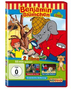 Benjamin Blümchen Diebstahl im Zoo / Das weiße Nashorn