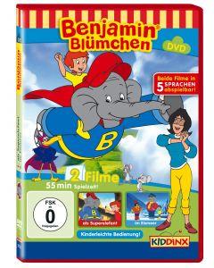 Benjamin Blümchen als Superelefant / im Eismeer