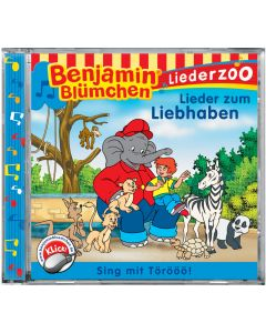 Benjamin Blümchen: Liederzoo Lieder zum Liebhaben