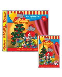 Benjamin Blümchen Der Weihnachtsabend Folge 51