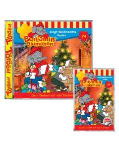 Benjamin Blümchen … singt Weihnachtslieder Folge 74