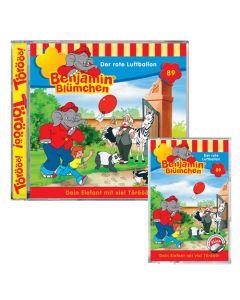 Benjamin Blümchen Der rote Luftballon Folge 89