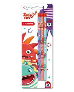 Sorgenfresser: 3er Box Bleistifte