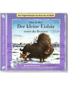 Kleiner Eisbär: rettet die Rentiere