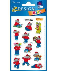 Benjamin Blümchen: Tattoos