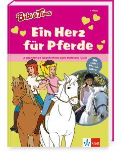 Bibi & Tina: Sammelband Ein Herz für Pferde - Erstlesen 2.Klasse