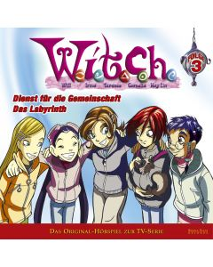 Disney W.I.T.C.H. Dienst für die Gemeinsch / Das Labyrinth (Folge 3)